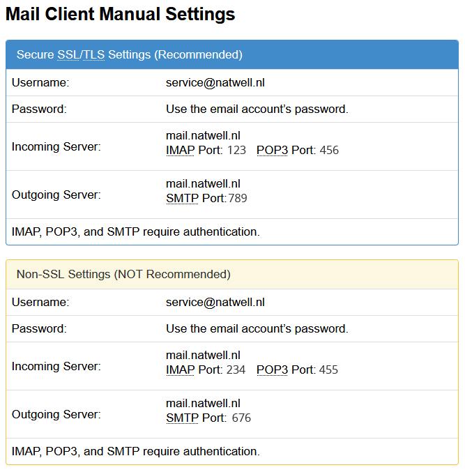 Erjon Webdesign mail handboek instructie